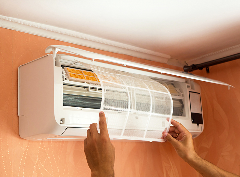 Ductless Mini-Split Air Conditioning Maintenance on Cape Cod, MA