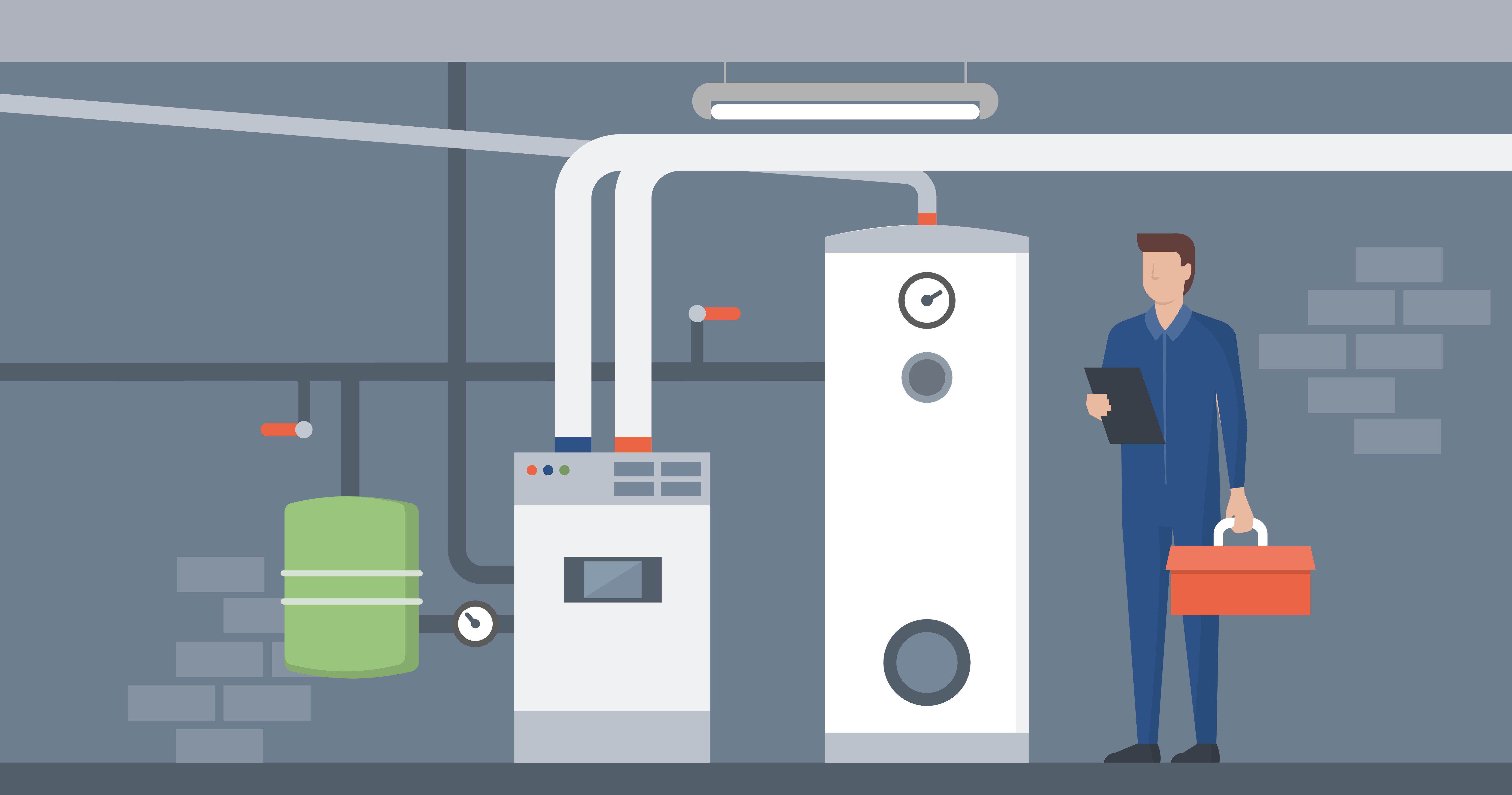 Boilers vs. Furnaces: What's the Difference?